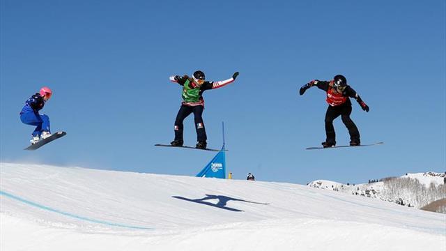La checa Eva Samkova, nueva campeona mundial de 'boardercross'