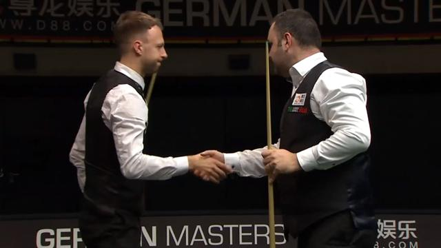 Williams and Trump sent packing in Berlin as Maguire sets up Wilson semi-final