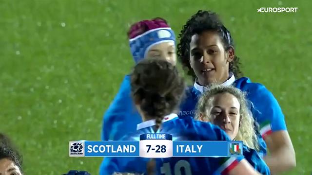 Sei Nazioni femminile: l'Italia domina la Scozia 28-7, gli highlights del successo delle azzurre
