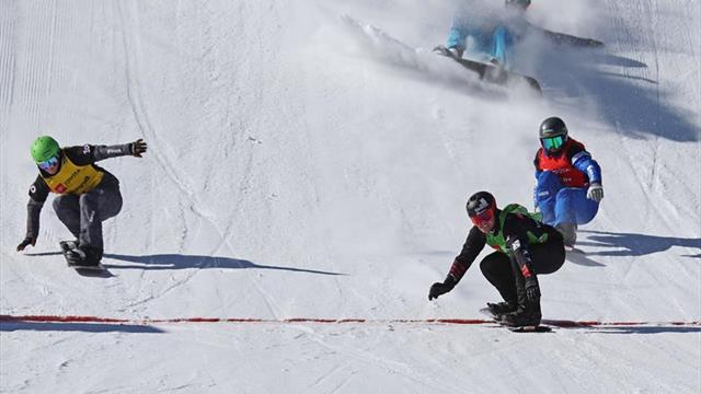 Lucas Eguibar rozó la medalla en la fiesta de apertura de Dierdorff y Samkova