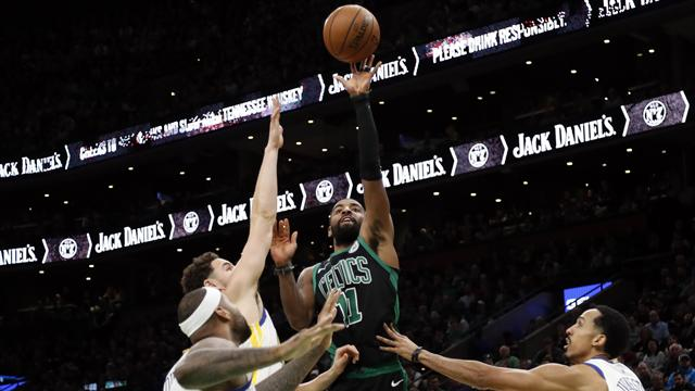 NBA roundup: Irving shines as Celtics top Knicks