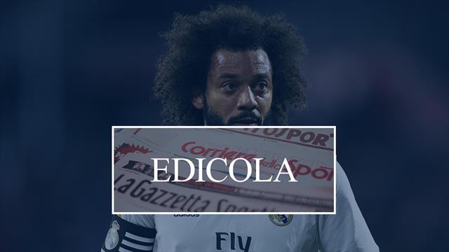 Edicola: Conte incombe su Spalletti, la Juventus pensa ancora a Marcelo