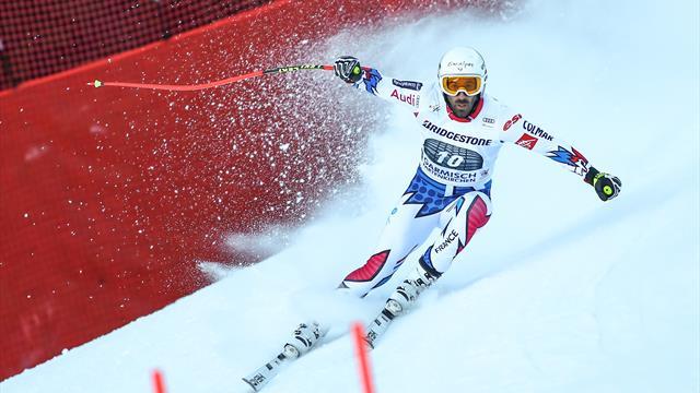 La descente de Garmisch annulée à cause des conditions météo