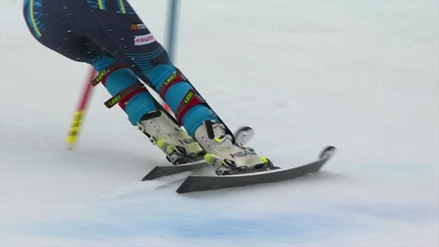 Swenn Larsson nails second run to secure podium spot