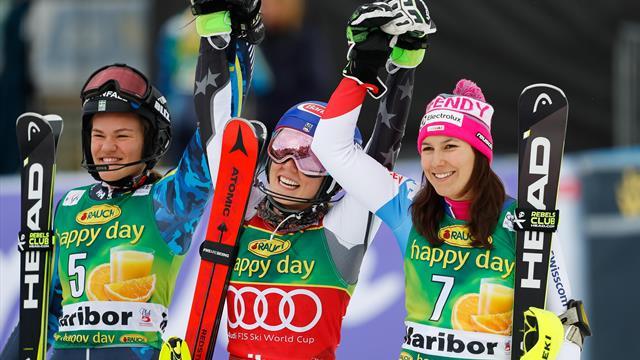 Report - Shiffrin continues to dominate in Apline World Cup with Slalom win in Maribor