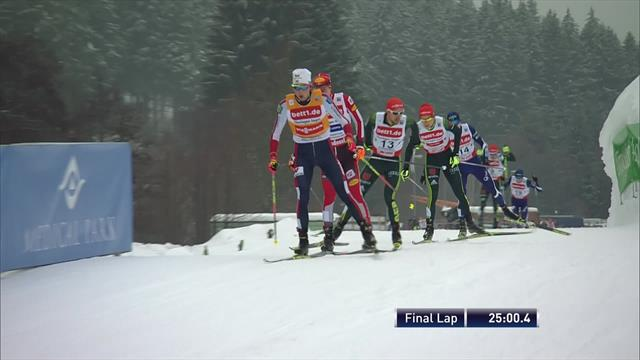 Riiber closes on crystal globe with Klingenthal win
