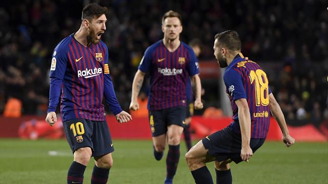 Messi brace salvages draw for Barcelona