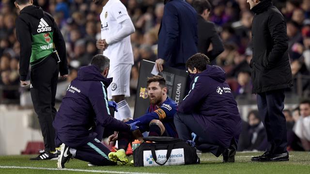 Héroïque mais touché, Messi pourra-t-il jouer le Clasico ?