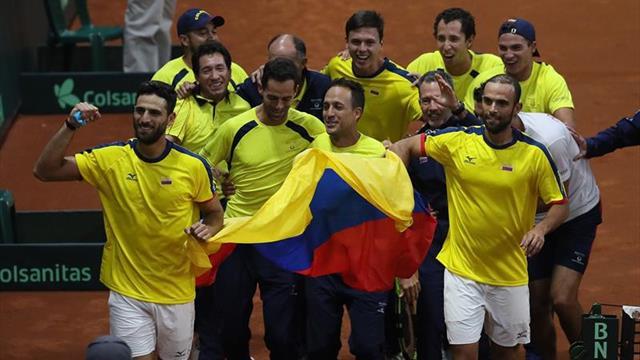 Cabal y Farah sellan la clasificación de Colombia a la fase final de la Copa Davis