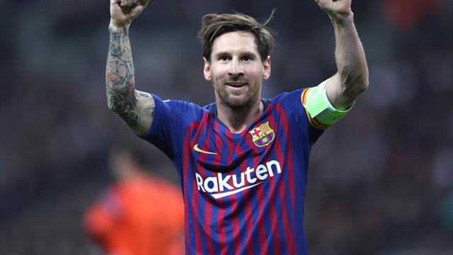 Messi named in Barca squad for Wednesday's Clasico