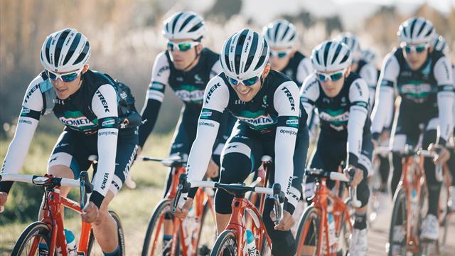 Así es el Kometa Cycling Team, el equipo profesional de Alberto Contador