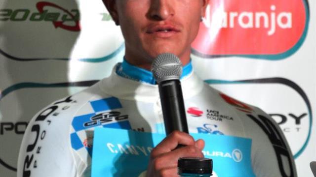 Winner Anacona, primer colombiano en ganar la Vuelta a San Juan