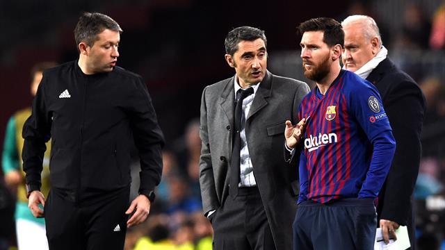 Valverde incertain concernant la blessure de Messi