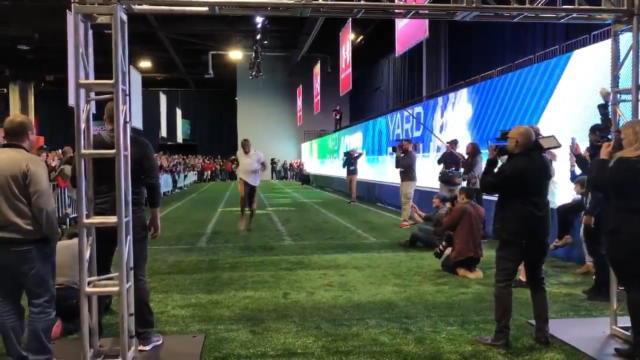 Superbowl LIII - Bolt établi un sprint record pour la NFL sur 40 yards