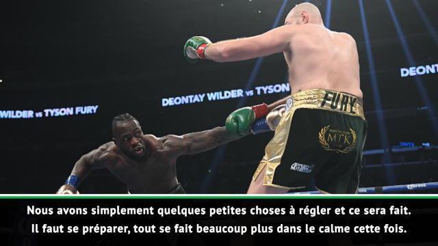 """Wilder : """"Cette fois, Fury ne se relèvera pas..."""""""