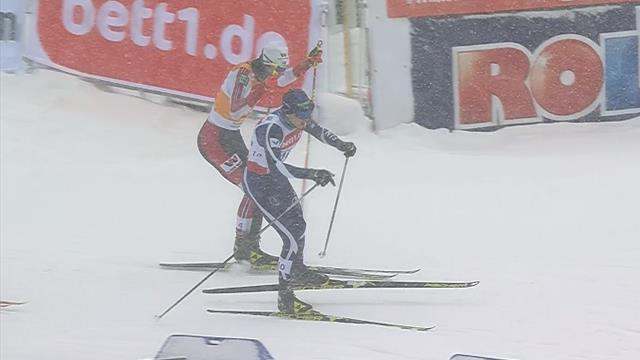 Jarl Magnus Riiber vince la Gundersen di Klingenthale si aggiudica la Coppa del Mondo