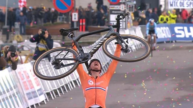 Van der Poel wins Cyclo-Cross world title