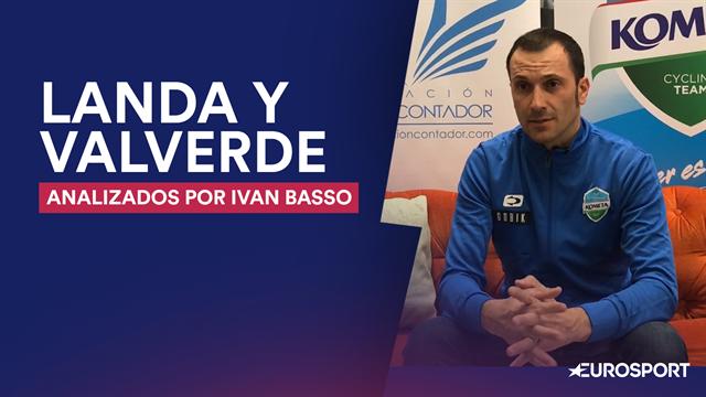 """Ivan Basso, en Eurosport: """"Si Mikel Landa llega bien física y mentalmente, puede ganar el Giro"""""""