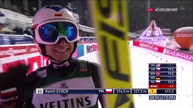 A Oberstdorf arriva la prima vittoria stagionale per Kamil Stoch, praticamente perfetto!