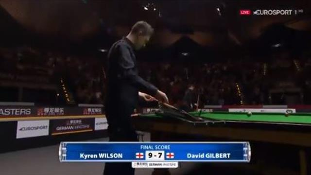 Wilson wins four on the bounce to take title