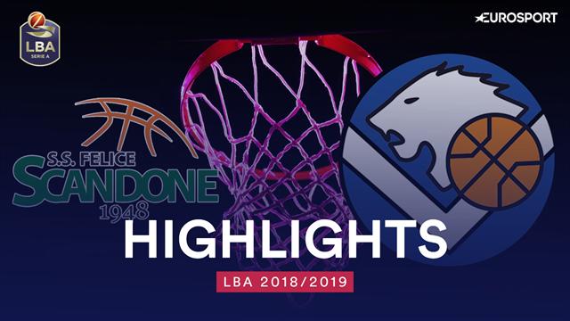 Highlights: Sidigas Avellino-Germani Basket Brescia 79-67