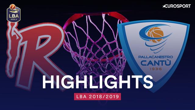 Highlights: Grissin Bon Reggio Emilia-Acqua S.Bernardo Cantù 89-99