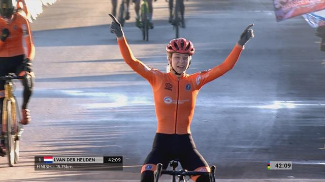 Highlights: Van der Heijden clinches victory ahead of Nagengast in U23 race