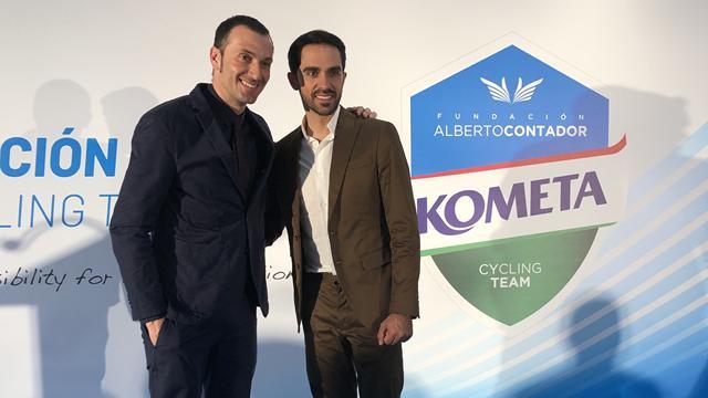 Kometa Cycling Team: Alberto Contador, la vía húngara y una temporada para seguir creciendo