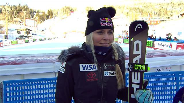 """Mundiales Are 2019, entrevista a Lindsey Vonn: """"Espero disfrutar y esquiar lo mejor posible"""""""