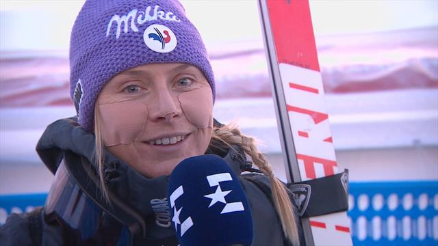 """Worley : """"Je n'ai pas de repères en super-G mais si je produis mon meilleur ski, ça peut aller vite"""""""