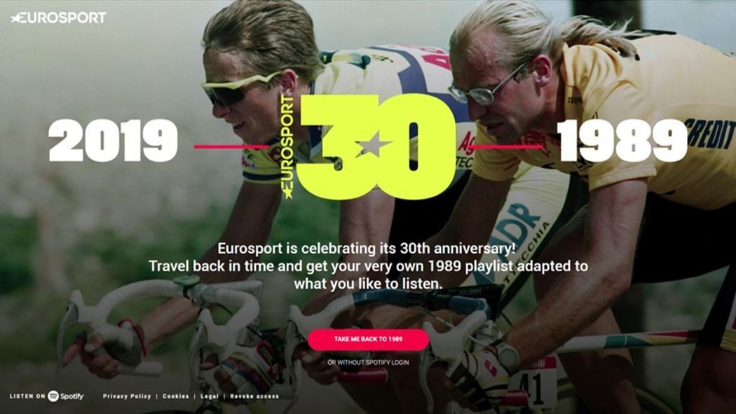 Create your own 'Throwback' playlist on Spotify to celebrate
