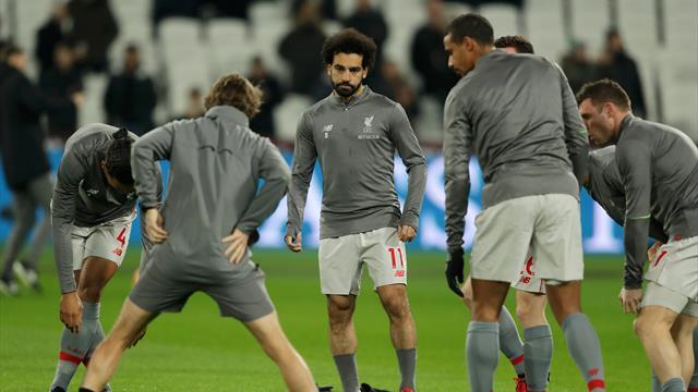 Salah victime d'insultes islamophobes au London Stadium