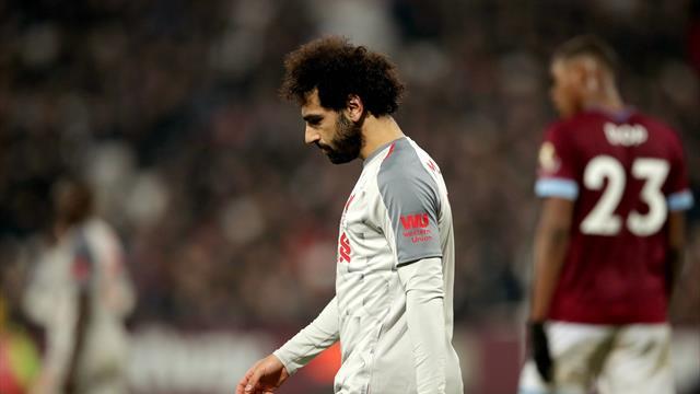 ⚽🏴 El Liverpool pincha ante el West Ham y ya solo le saca 3 puntos al City