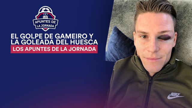 Los apuntes de la jornada 22: El golpe de Gameiro, la pifia de Bonera y el mejor Huesca en Primera