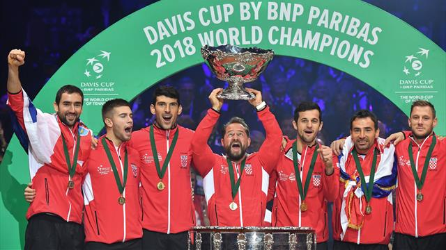 Davis Cup champions Croatia among six seeded nations for finals