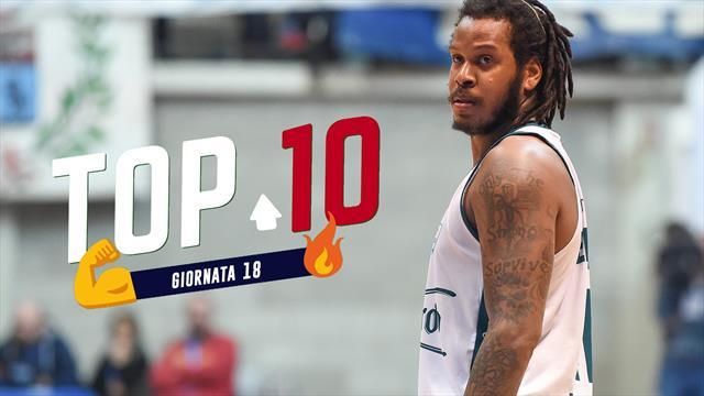 Top 10: le migliori giocate della 18a giornata di Serie A