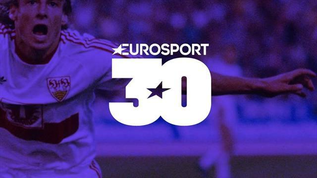 Eurosport sărbătorește 30 de ani de pionierat în sport