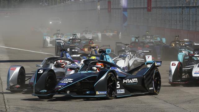 Watch the Formula E season LIVE on Eurosport Player