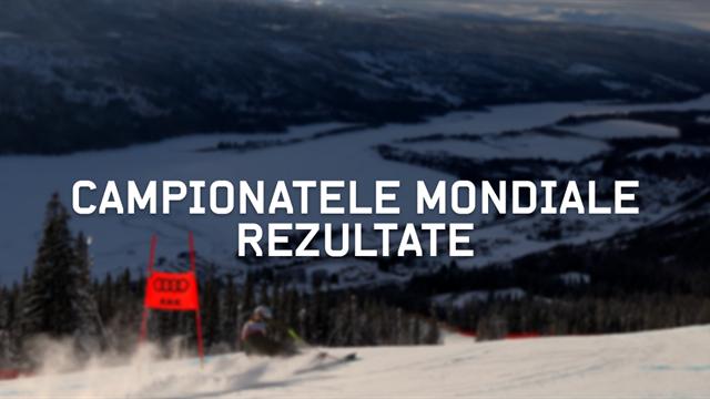 Campionatele Mondiale de Schi Alpin – Rezultate complete
