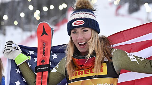 Alpine Skiën | Shiffrin verovert goud; Vonn gaat onderuit in laatste Super G