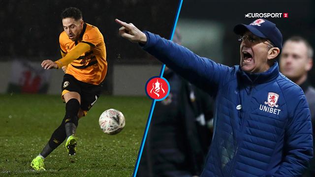 Highlights: Newport slog Tony Pulis' tropper i autentisk FA Cup-opgør