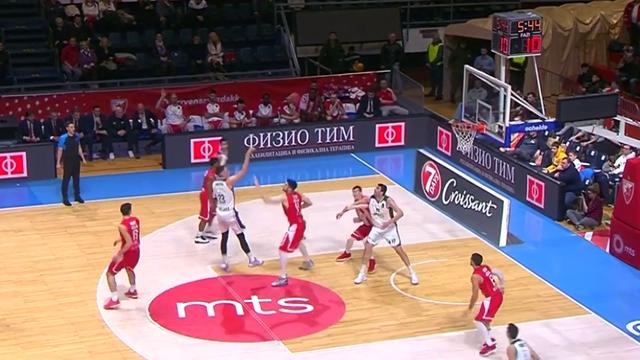 Highlights: Stella Rossa mts Belgrado-Unicaja Malaga 105-89
