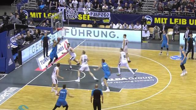 Highlights: ALBA Berlino-Partizan NIS Belgrado 97-74