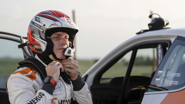 Grigorov goes for it in ERC Junior