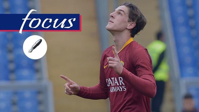 Zaniolo precoce come Totti: può diventare il futuro leader della Nazionale?