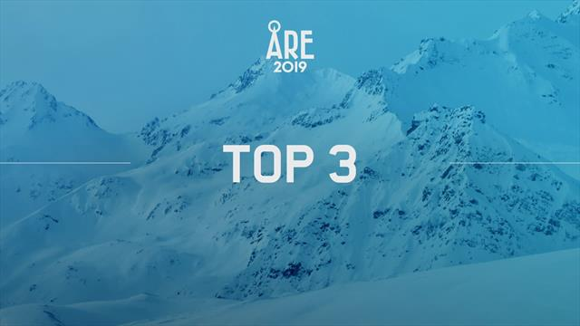 Mundiales Are 2019: Kriechmayr y Clarey comparten la plata y acompañan a Paris en el podio
