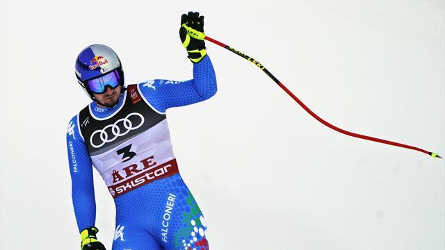 Italienske Dominik Paris vant VM i super-G