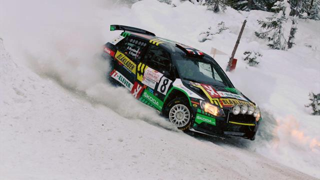 ERC aspirant Brynildsen continues to fly