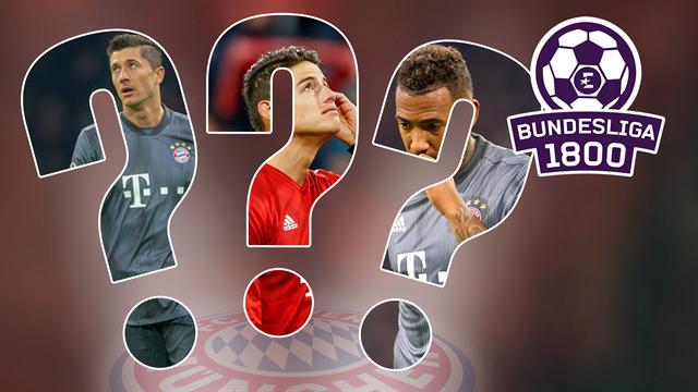 Bundesliga 1800 #87 | Was passiert mit Lewandowski, James und Boateng?