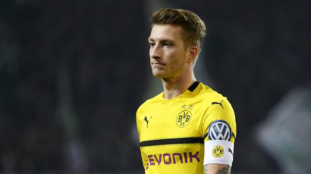Dortmund's Reus ruled out of Champions League clash with Tottenham